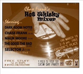 Chase Frank Hot Whiskey Mixer
